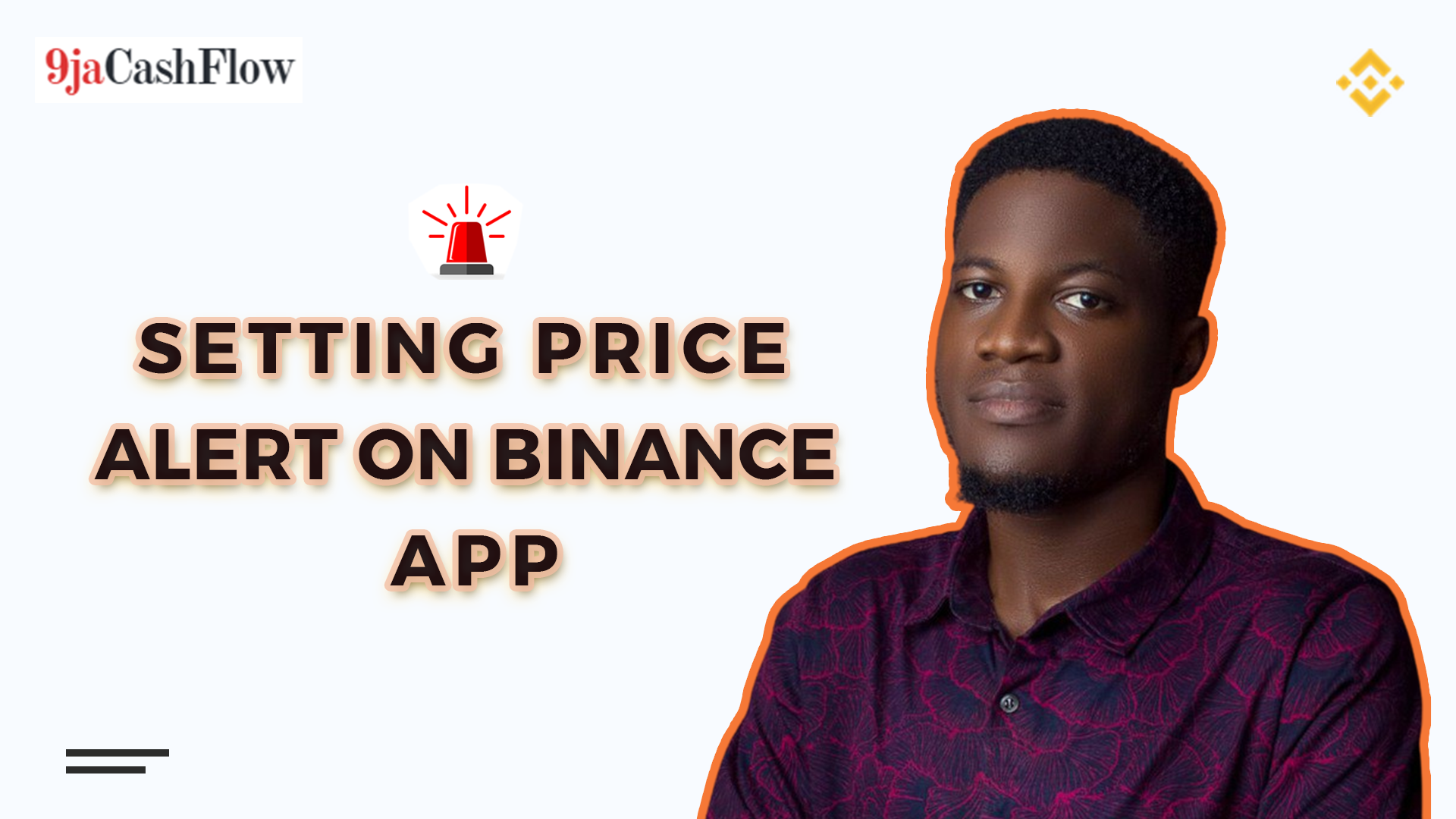 Price Alert on Binance
